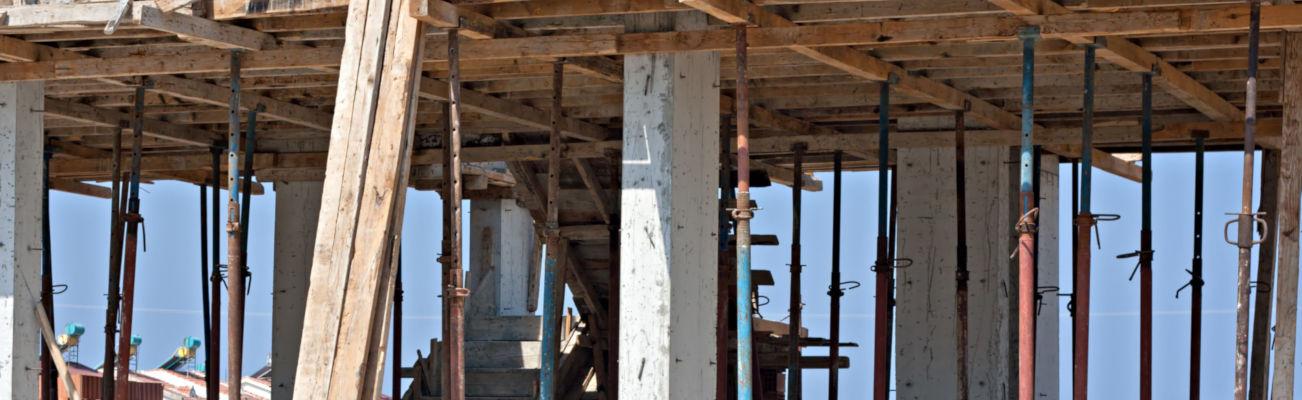 Construction: fondation et enveloppe de bâtiment - Mobile