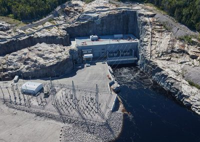 Centrale électrique -Hydro Manitoba