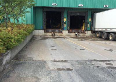 Débarcadère pour remorques, Cascade - Kingsey Falls, Québec