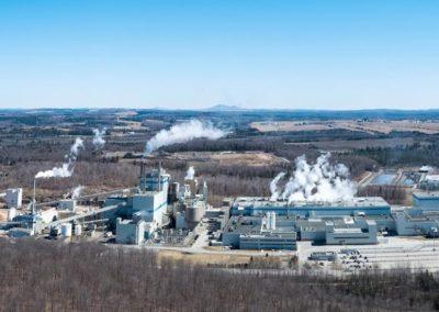 Finition intérieur usine Domtar - Windsor, Québec